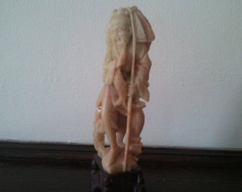 Chinese Jade Sculpture Hand-carved Qing Dynasty