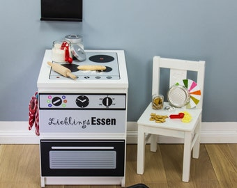 Ikea hack s lectionn par clem around the corner sur etsy - Stickers cuisine enfant ...