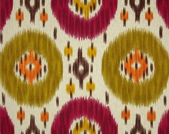 Heavyweight Upholstery Fabric, Heavyweight Drapery Fabric, Ikat Fabric, SlipCoverFabric,  Fabric By The Yard, Modern Fabric, ExclusiveFabric