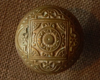 Lovely Victorian Brass Door Knob