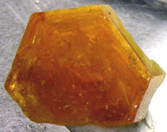 Mimetite, lustrous orange crystal, China - Mineral Specimen for Sale