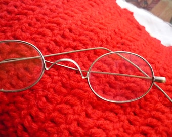 French Vintage reading glasses from 1920's