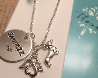 Dachshund Memorial Necklace