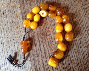 Baltic Amber Worry Beads