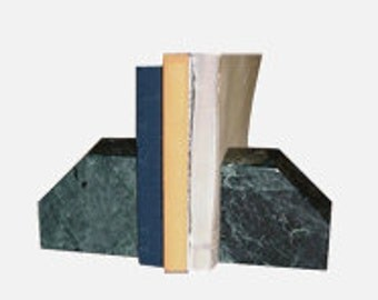 Verde Antique Book Ends