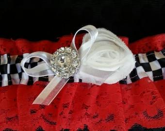 Racer Bridal Garter