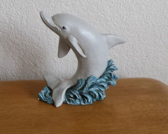 Ceramic Dolphin Facing Left