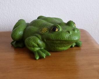 Large Ceramic Garden Frog (#317)