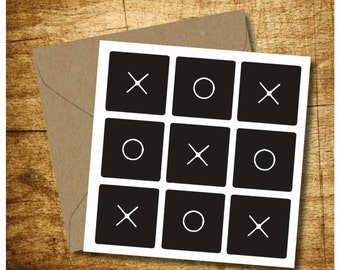 O's and X's Card