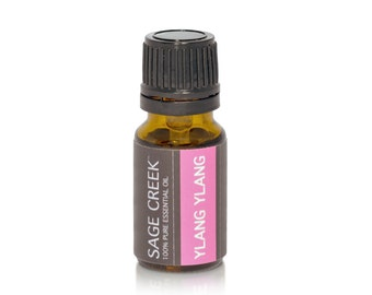 Ylang Ylang Essential Oil - 10mL Pure Therapeutic Grade Essential Oil, Aphrodisiac, Floral