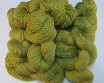 Tapestry Wool,  Chartreuse Green, 4-ply, 125+ yds each skein