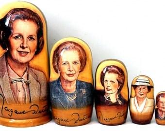 Nesting doll #511 Margaret Thatcher