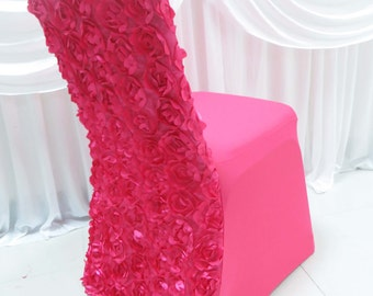 Rosette Spandex/Lycra Chair Covers- various colours available!