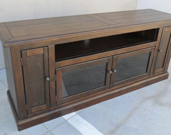 Media Console, Entertainment Center, TV Stand, Reclaimed Wood, Console Cabinet, Rustic