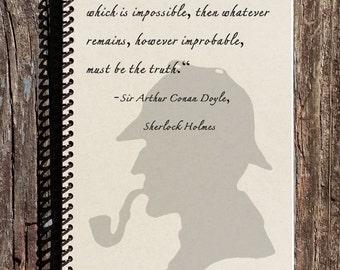 Sherlock Holmes Journal - Sherlock Holmes Notebook - The Truth Journal - Diary - Journal - Notebook