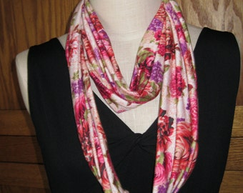 FREE SHIPPING** Infinity Scarf Blooming Joy