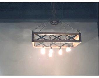 Modern Rustic Lighting Chandelier