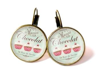 Cupcakes earrings