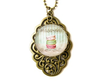 Macaroons necklace