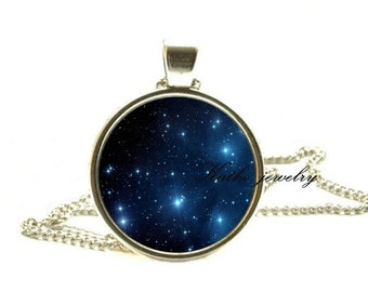 Nebula necklace galaxies necklace pendant space jewelry