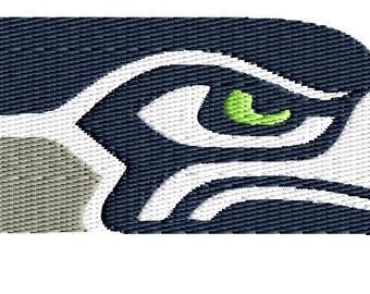 seahawk machine embroidery design