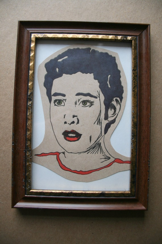 Items similar to Twin Peaks Josie Packard Framed ...