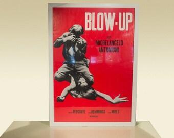 Framed Blow-Up Movie Poster