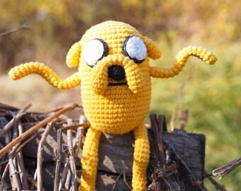 Jake the Dog Adventure Time Amigurumi