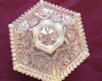 Beautiful Opalescent Trinket Box
