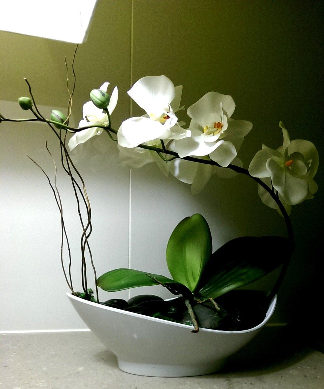 Phalaenopsis silk orchid arrangement artificial orchid floral