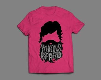 T-shirt with Yukons Beard Original Design