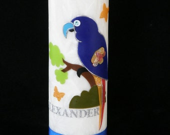 Birthday Party Favor  Candle with Parrot