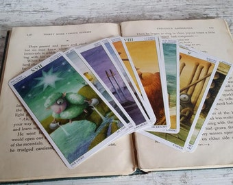Tarot Card Reading-- Three Card Spread, 1-2 Questions