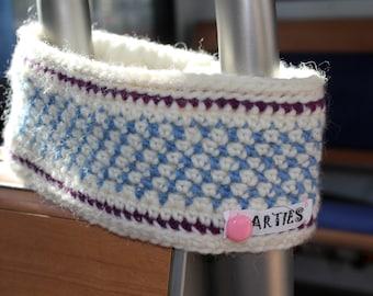 SONDERANGEBOT! Stirnband, Ohrenwärmer aus gutem, haltbaren Material. Winddicht durch Futter aus Polarfleece. Unikat