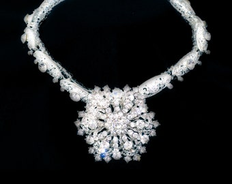 Snowflake Bling Necklace