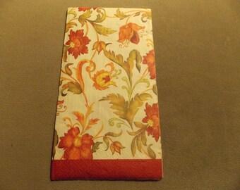 Gibson Petite Fleur Paper Napkins Decoupage