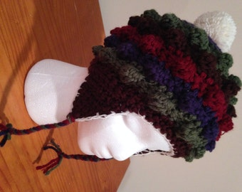 Popcorn Stitch Hat - Available in many colors!