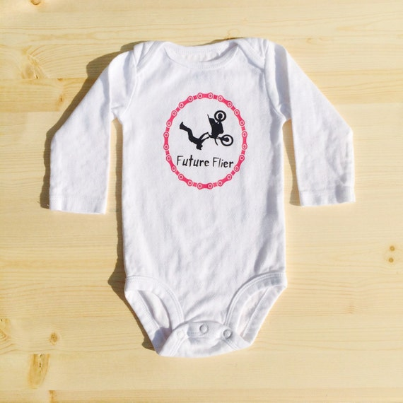 Motocross dirtbike baby clothes bodysuit by tnydesigns on etsy