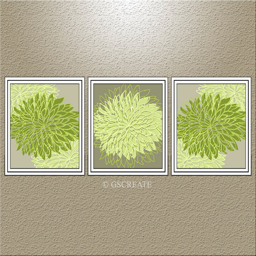 Olive lime green bathroom wall art bathroom wall decor for Bathroom decor green walls