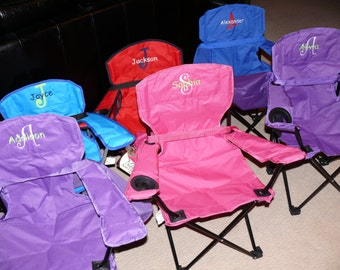 Personalized Kids' Camp or Beach Chair