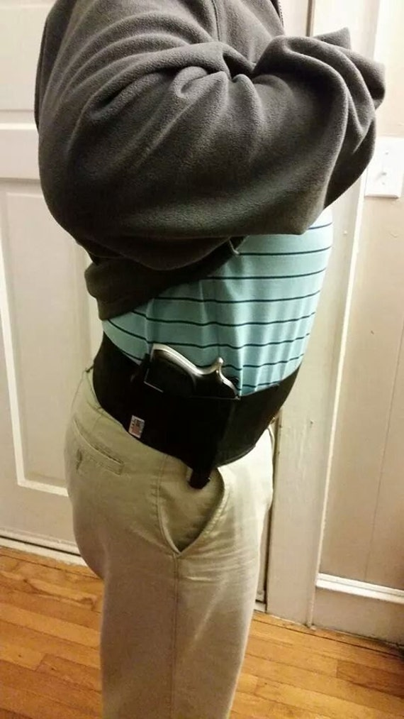 Mens Concealed Carry Waistband Gun Holster Belly Band Made