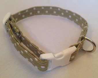 Cat collar - with quick release / breakaway buckle for safety