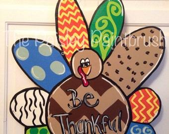 Thanksgiving Turkey Door Hanger