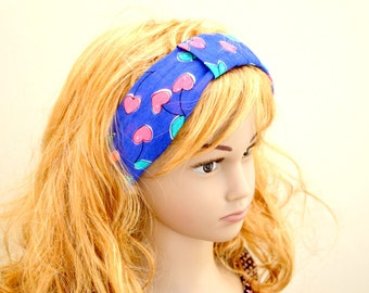 Cherry Blossom handmade turban