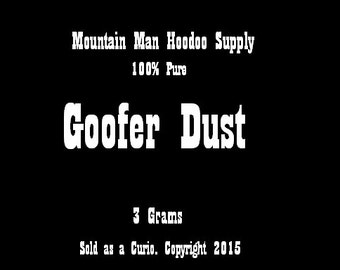 Goofer Dust- for Hexing, Banishing, Crossing, etc.