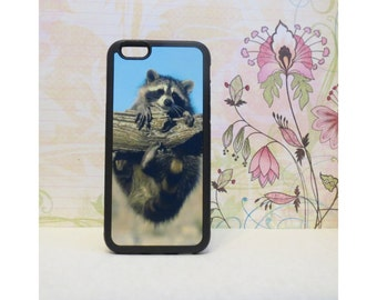 Raccoon - Rubber iPhone Case