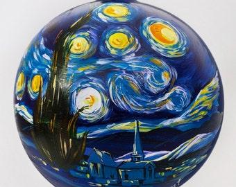 Vincent Van Gogh. The Starry Night Ball Christmas Ornament. Ltd ed. 1 of 70