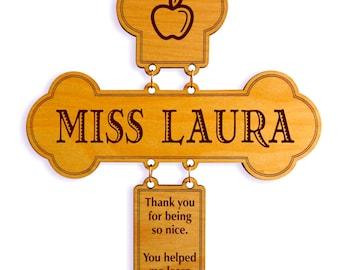 Teacher Decorative Cross Gift, Teacher Appreciation Gift, Teacher Appreciation Week, Thank you Teacher Gift, Special Teacher Keepsake.