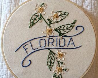 Florida - Orange Blossom 9'' Hoop