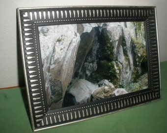 Rock Ledge with Moss. Photograph-4 x 6 color print.Frame not included.Free shipping.Nature,forest.Walk through the woods with MyEyeImeragery